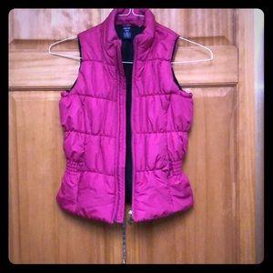 Girls jacket vest